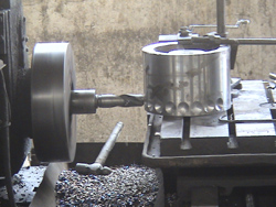 Briquette making machine roller