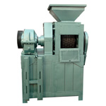 Roll briquette press machine