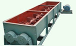 Mixer of briquette plant