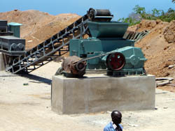 Complete equipment of briquette press