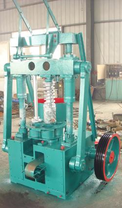 Old Type Coal Ball Machine Homemade Briquette Press
